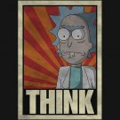 Rick and Morty THINK!!! t-shirt - www.shirtdorks.com