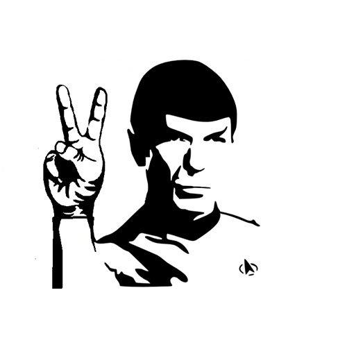 Spock peace T-shirt- www.shirtdorks.com