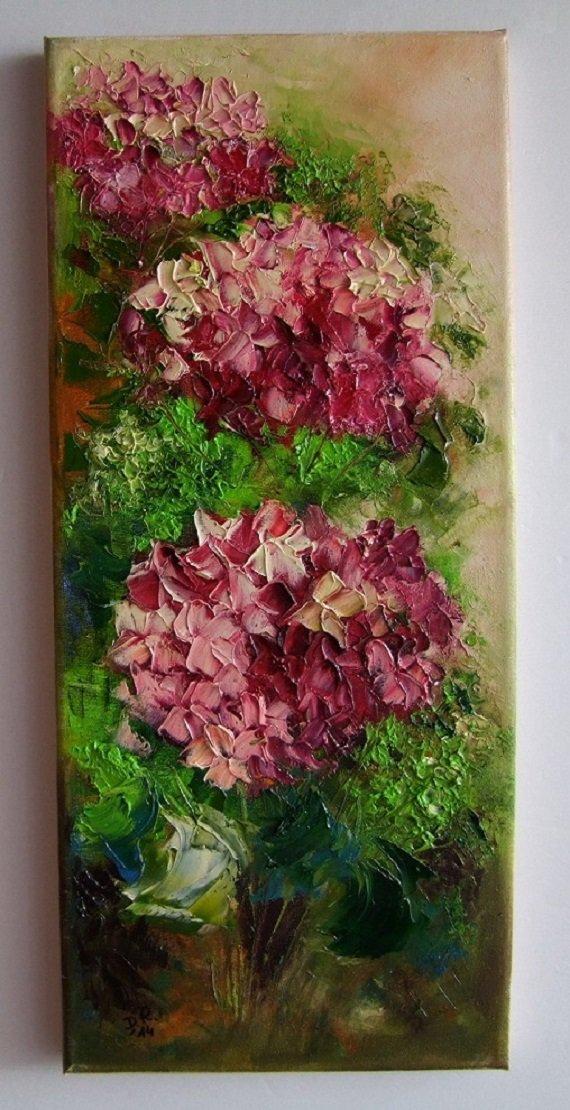 How To Impasto Oil Painting