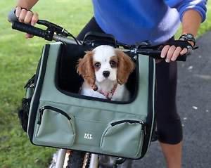 DOG BICYCLE BASKET CARRIER DOG BIKE BASKET CAR SEAT TOTE 3 IN 1 CHOOSE A COLOR