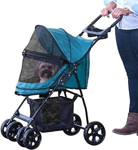 DOG STROLLER CARRIAGE carrier HAPPY TRAILS LITE PETS UP TO 25 LBS SHIPS FROM USA