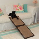 "DOG RAMP INDOOR CARPETED PET RAMP OPENS TO 42"" HOLDS UP TO 200 LB SHIPS FROM USA"