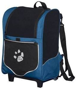 DOG ROLLING CARRIER BACKPACK CAR SEAT 5 IN 1 FOR PETS TO 10 LBS SHIPS FROM USA