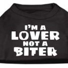 DOG SHIRT boxer lab pointer pit bull LOVER NOT A BITER DOG TANK clothe USA MADE