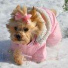 DOG COAT chihuahua teacup yorkie maltese DESIGNER DOG SNOW SUIT COAT PARKA