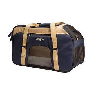 "DOG PET CARRIER SPORT CARRIER TOTE BAG FROM BERGAN 19"" X 10"" X 13"" SHIPS FROM US"