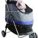 DOG STROLLER CARRIER & CAR SEAT ALL IN ONE! ALL SURFACE CONVERTIBLE HOLDS 70 LBS