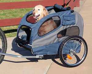 LARGE DOG BICYCLE TRAILER HOUNDABOUT DOG BIKE TRAILER FOR DOGS UP TO 115 LBS
