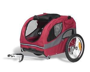 DOG BICYCLE TRAILER HOUNDABOUT DOG BIKE TRAILER FOR DOGS UP TO 45 LBS PET TRAVEL