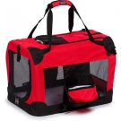 DOG CARRIER TRAVEL PET CARRIER PETS UP TO 22 LBS 360 VIEW CRATE W/ THINSULATE
