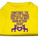 SMALL DOG SHIRT yorkie chihuahua toy maltese PAW HEART DOG SHIRT clothes US MADE