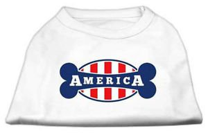 DOG SHIRT boxer lab pointer collie pit bull AMERICA DOG TANK clothes USA MADE