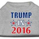 DOG SHIRT boxer lab pointer collie pit bull TRUMP 2016 DOG TANK clothes USA MADE