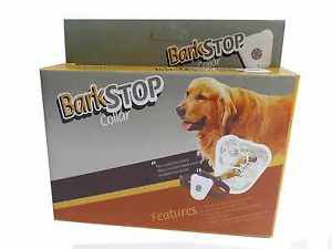 NON SHOCK DOG BARK COLLAR ANTI BARK SONIC FREQUENCY VIBRATION STOPS DOG BARKING