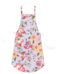 *** NEW ITEM ***Full Size Adult Apron - FLOWER GARDEN - All Handmade