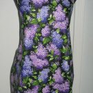 Full Length Adult Apron - PURPLE BOUQUET - All Handmade