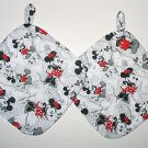 "8"" Hot Pot Pad/Pot Holder with Hanger Set - THE TWINS"