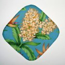 "** NEW ITEM ** 8"" Hot Pot Pad/Pot Holder - Floral 1 - All Handmade"