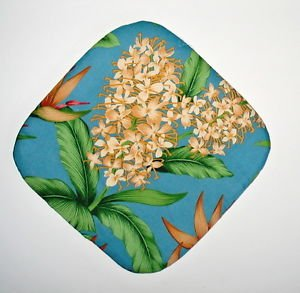 "** NEW ITEM ** 8"" Hot Pot Pad/Pot Holder - Floral 1 - All Handmade"