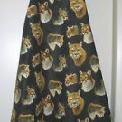 *** NEW DESIGN *** Full Length Adult Apron - BIG CAT - All Handmade