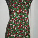 *** NEW ITEM *** Full Length Adult Apron - STRAWBERRIES ON BLACK - All Handmade