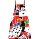 Full Size Adult Apron - CASINO GAMES - All Handmade