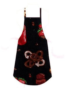 Child Size Apron - All Handmade - CHOCOLATE LOVERS DREAM
