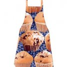 *** NEW ITEM ***Full Size Adult Apron - BLUEBERRY MUFFINS - All Handmade