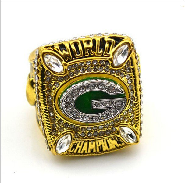 High Quality Green Bay Packers 2010 Super Bowl Championship Replica Ring-Free Shipping