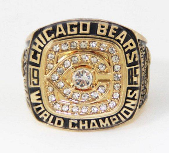 High Quality Walter Payton-1985 Chicago Bears Super Bowl Championship Replica Ring-Free Shipping