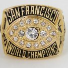 High Quality 1981 San Francisco 49ers Super Bowl Championship Replica Ring-Free Shipping