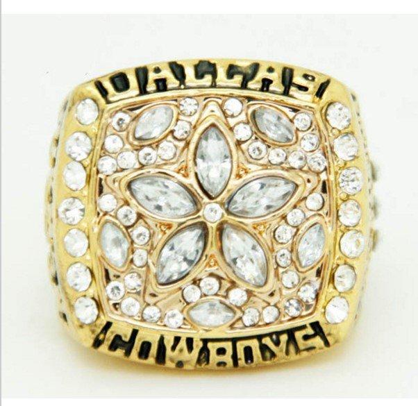 High Quality 1995 Dallas Cowboys Super Bowl Championship Replica Ring-Free Shipping