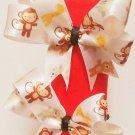 Hair Ties: Batman, Monkey, Ghostbusters, Batgirl, Rainbow, Flowers, Custom