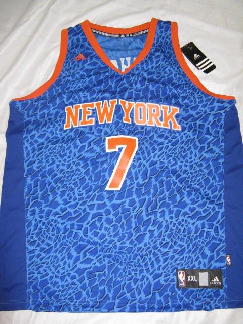 Carmelo Anthony New York Knicks 2XL Adidas Crazy Lights Swingman Jersey