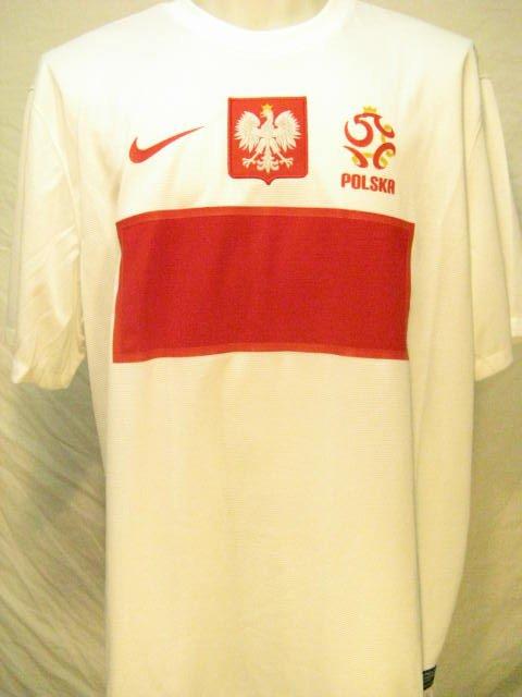 Poland Nike Dri-Fit Men's 2XL Home Soccer Jersey