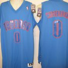 Russell Westbrook Oklahoma City Thunder Men's XL 2012 Christmas Swingman Jersey