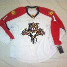 Roberto Luongo Florida Panthers White Road 2015 Reebok Authenic Size 56 Jersey