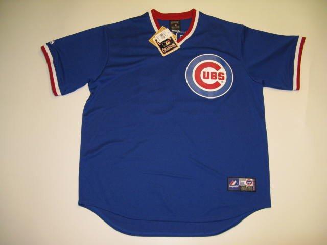 Ryne Sandberg Chicago Cubs Vintage 1980's Majestic Large V-neck Jersey