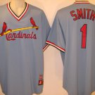 Ozzie Smith St. Louis Cardinals Vintage 1980's Majestic 2XL V-Neck Jersey