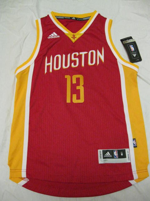 James Harden Houston Rockets Adidas Red Alternate Youth Medium Swingman Jersey
