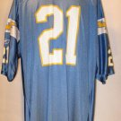 LadainianTomlinson San Diego Chargers 2XL Powder Blue Throwback Reebok Replica Jersey
