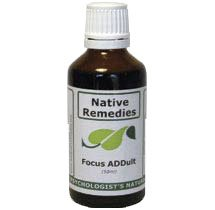 Focus ADDult - Adult ADD Formula, No Side Effects