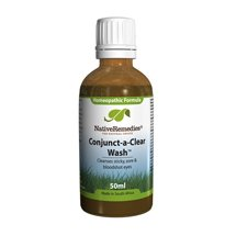 Conjunct-a-Clear Wash - Red Eye Treatment For Bloodshot Eyes
