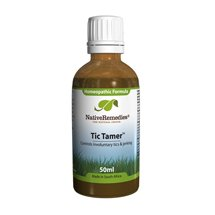 Tic Tamer - Herbal Muscle Spasm Treatment For Muscle Twitching