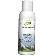 PetAlive BeFree Flea Shampoo - Natural Flea Shampoo For Dogs