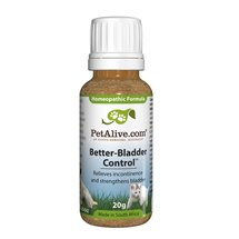 PetAlive Better-Bladder Control - Pet Bladder Control Supplement / Remedy For Dogs & Cats