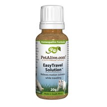 PetAlive EasyTravel Solution - Motion Sickness Relief For Dogs & Cats Natural Treatment Medicine