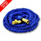 NEW MODEL World's Strongest 50 ft Expandable Garden Hose with FREE Shut Off Valve (Blue)