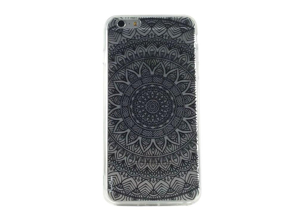 Black Mandala Pattern Type 1 - New Cell Phone Case iphone 6 plus ip6 plus
