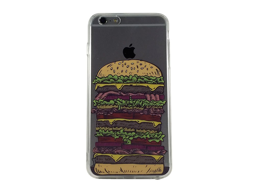 Counter Attack Burger - New Burger Cell Phone Case iPhone 6 ip6